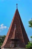 Старая крыша башни в Sighisoara Стоковые Фото
