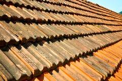 старая крыша в Италии линия архитектура Стоковое Изображение