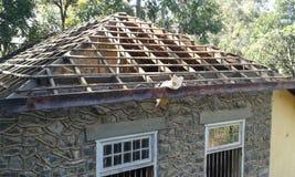 Старая крыша здания Стоковые Фото