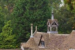 старая крыша Стоковое Изображение