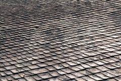 старая крыша стоковая фотография