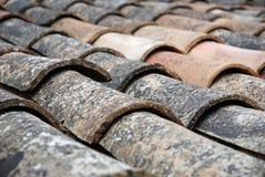 старая крыша Стоковое фото RF