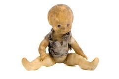 старая куклы grungy изолированная hobo Стоковые Изображения RF