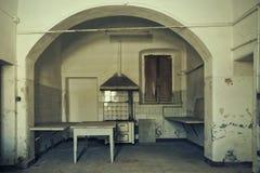 Старая кухня стоковые фотографии rf