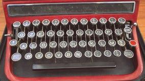 Старая клавиатура Стоковая Фотография