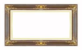 Старая классическая деревянная рамка Стоковые Фотографии RF