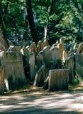 старая кладбища еврейская Стоковая Фотография RF