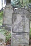 старая кладбища еврейская Стоковые Изображения RF