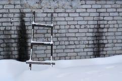 старая лестница Стоковая Фотография RF