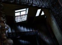 старая лестница Стоковые Изображения RF