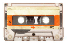 Старая магнитофонная кассета Стоковая Фотография