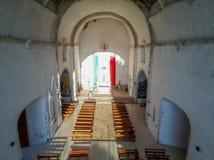Старая майяская церковь стоковые изображения rf