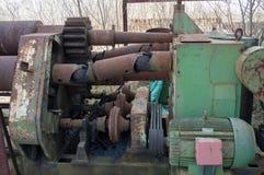 Старая машина стоковое изображение