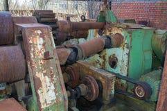 Старая машина стоковая фотография