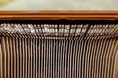 Старая машинка в винтажном тоне Стоковые Изображения