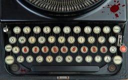 Старая машинка с терроризмом Стоковое Фото