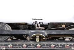 старая машинка Стоковое Изображение