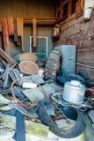Старая мельница Кроуфорда в Walburg Техасе, старье съемочной площадки Стоковое Фото