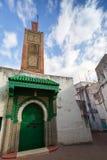 Старая мечеть. Старая часть Танжера, Марокко Стоковое Изображение