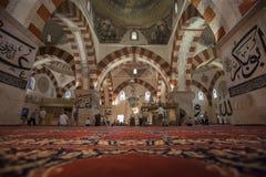 Старая мечеть, Эдирне, Турция Стоковая Фотография