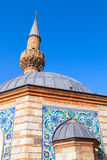 Старая мечеть Camii, часть фасада Izmir, Турция Стоковое Фото