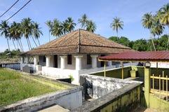 Старая мечеть Pengkalan Kakap в Merbok, Kedah Стоковая Фотография