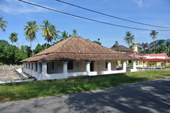Старая мечеть Pengkalan Kakap в Merbok, Kedah Стоковые Изображения