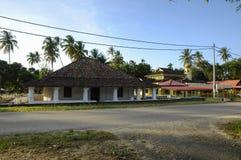 Старая мечеть Pengkalan Kakap в Merbok, Kedah Стоковое Фото