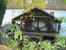 Старая мельница катит внутри исторический центр Праги Стоковое Фото