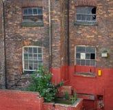 Старая мельница Манчестер стоковые фотографии rf