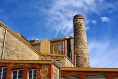 Старая мельница на Birdwood Стоковое Изображение RF