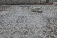 Старая мозаика Kibyra в Golhisar, Burdur Стоковая Фотография RF