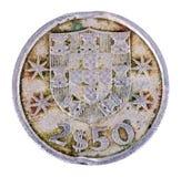 Старая монетка Португалия Стоковое Изображение RF