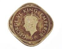 Старая монетка Стоковое Изображение