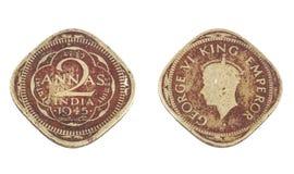 Старая монетка Стоковая Фотография
