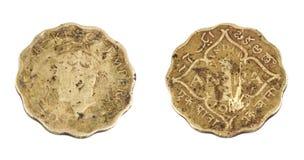 Старая монетка Стоковые Фотографии RF