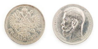 Старая монетка Стоковые Фото