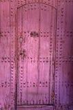 Старая морокканская дверь Стоковая Фотография