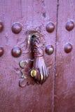 Старая морокканская дверь Стоковое Изображение RF
