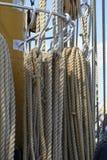 Старая морская веревочка Стоковое Фото