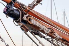 Старая морская веревочка Стоковые Изображения