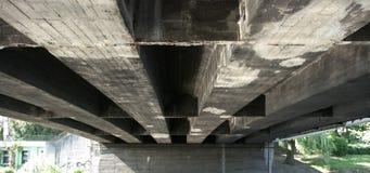 старая моста конкретная стоковое фото rf