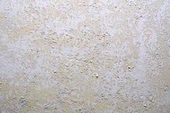 Старая наслоенная стена штукатурки Стоковое Изображение