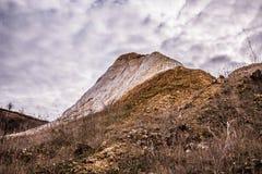 Старая неиспользованная шахта каолина Стоковое Изображение RF