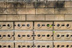 Старая несенная предпосылка текстуры кирпичной стены Стоковое фото RF