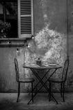 Старая обедая таблица Стоковые Фото
