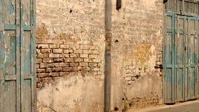 Старая община кирпичной стены Стоковое фото RF