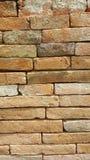Старая оранжевая предпосылка кирпичной стены и красивая поверхность Стоковое Изображение RF