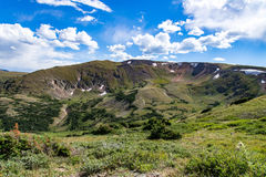 Старая дорога Fall River - национальный парк Колорадо скалистой горы Стоковое Изображение RF