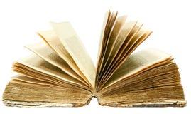Старая открытая книга Стоковые Изображения RF